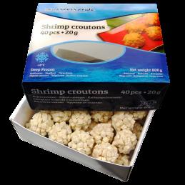Shrimp Crouton (40x20g), 800g