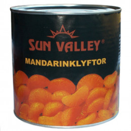 Mandarinklyftor, 2,65Kg
