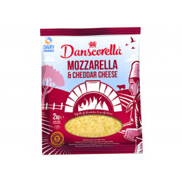 Mozzarella/Cheddarost, 2Kg...