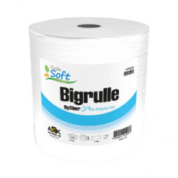 Big Rulle Basic Vit 1-Lags,...