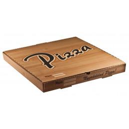 Pizzakartong 50x50x4 Brun...