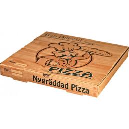 Pizzakartong 33x33x3,5cm...