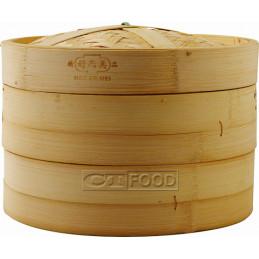 "Bamboo Steamer 10"", 3pcs"