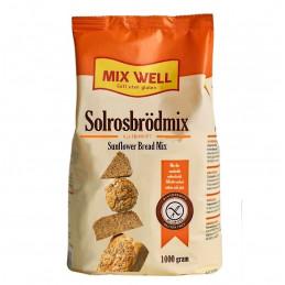 Mjöl Solrosbrödmix, 25kg