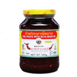 Chili paste w/ Soy Bean Oil...