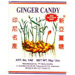 Ginger Candy, 56g Jin Jin