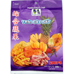 Mixed Fruit Chip, 250g