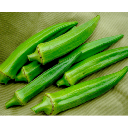 Okra Whole, 1Kg