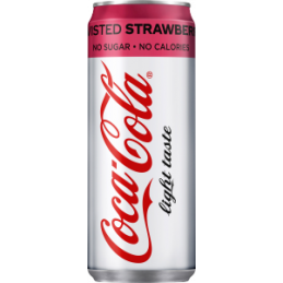 Cola Light Strawberry 33cl...