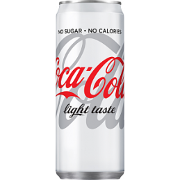 Coca-Cola Light 33cl Burk