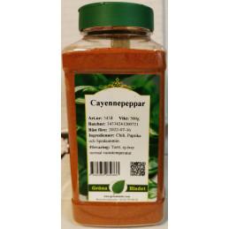Cayennepeppar, 550g