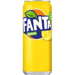 Fanta Lemon 33cl Burk