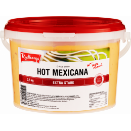 Hot Mexicana dressing, 2,5kg