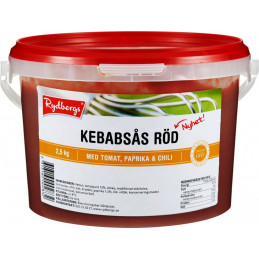 Kebabsås Röd, 2,5kg