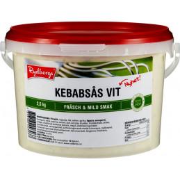 Kebabsås Vit, 2,5kg