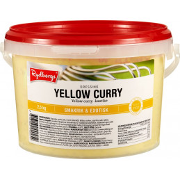 Yellow Curry Dressing, 2,5kg
